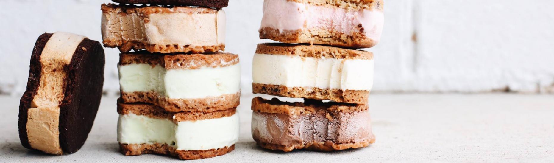 Pat and Sticks Ice Cream Sandwiches