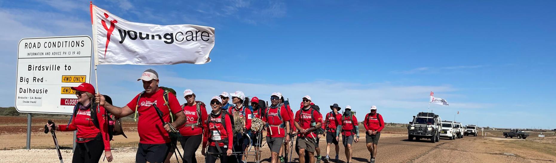Youngcare Simpson Desert Challenge Team