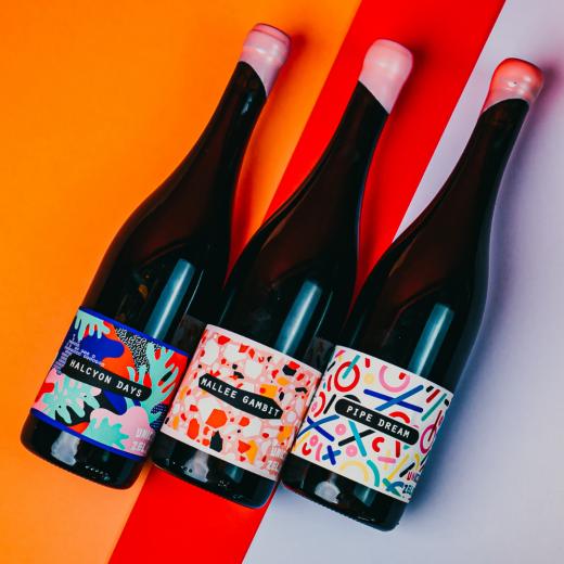 Team Unico Wine Flat Lay