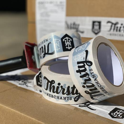 Thirsty Merchants Custom Tape