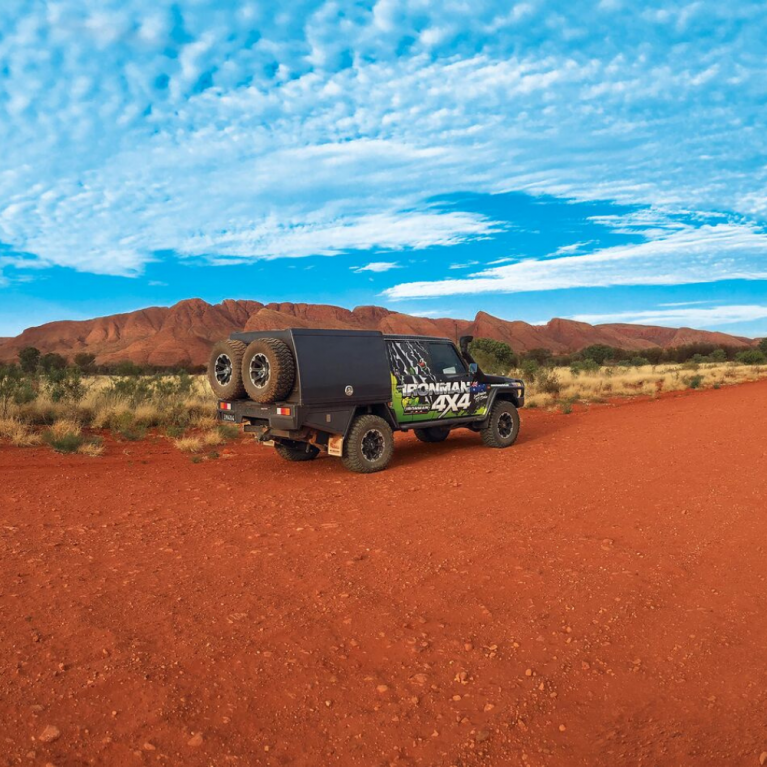 Ironman 4x4 in outback