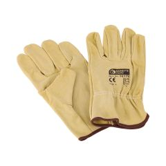 Signet's Own Pigskin Riggers Gloves - Large (12 pairs per box)