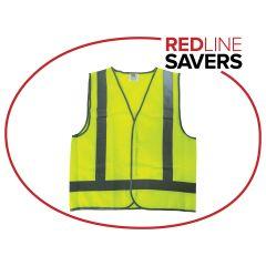 Reflective Safety Vest XL Size - Lime