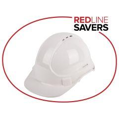 3M Vented Helmet - White
