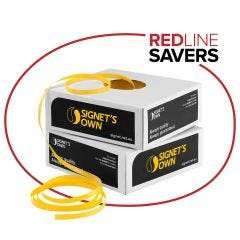 Signet's Own Polypropylene Hand Strapping - 15mm x 1000m Yellow