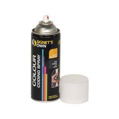 Signet's Own Steel Colour Coding Spray - Black (00E53)
