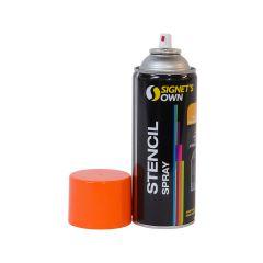 Signet's Own Stencil Spray 350g - Orange