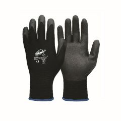 Ninja P4001 Palm Coated Handling Gloves - Medium (12 pairs per carton)