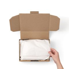 Tissue Paper - White 750mm x 500mm x 17gsm