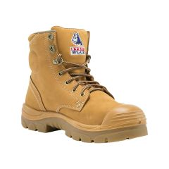 Steel Blue Argyle Safety Boot - Size 9.5 Wheat