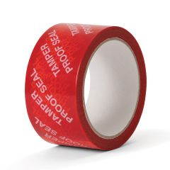 Tamper Proof Seal Tape PE – Red 50mm × 50m