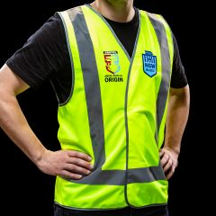 Official NSW State of Origin Safety Vest Reflective Large