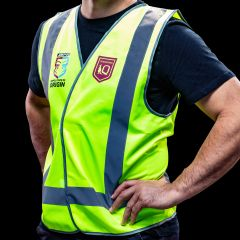 Official QLD State of Origin Safety Vest Reflective Large