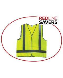Reflective Safety Vest L Size - Lime