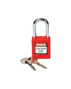 Brady Safety Padlock - Red