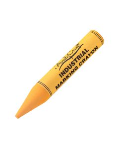Andycraft Industrial Marking Crayons - Yellow (12 per box)