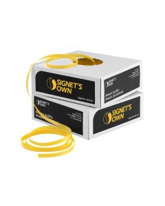 Signet's Own Polypropylene Hand Strapping - 12mm x 1000m Yellow