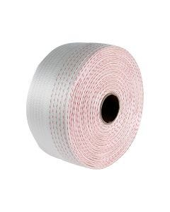 Signet's Own Poly-Woven Strapping - 19mm x 700m 1 Red Line