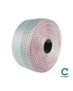 Signet's Own Poly-Woven Strapping - 19mm x 500m 2 Red Line