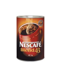 Nescafe Blend 43 Coffee 1kg Tin