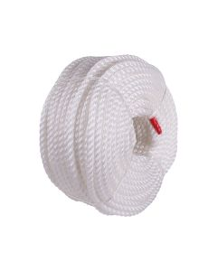 Signet's Own Silver Staple Polyethylene Rope Coil 10mm x 220m