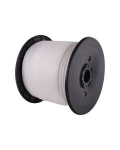 Signet's Own Silver Staple Polyethylene Rope Spool 6mm x 300m
