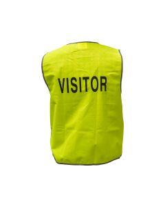 Signet Printed Safety Vest (Visitor) - Lime