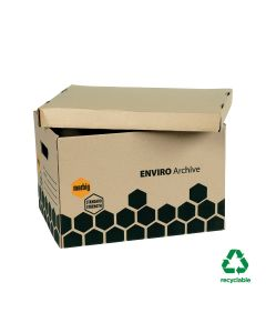 Marbig Archive Boxes (390mm L x 290mm W x 260mm H)
