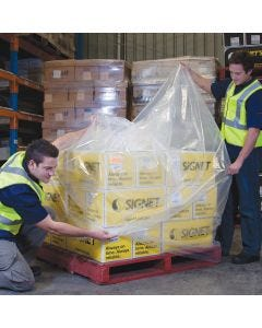 LDPE Pallet Bag 2400mm x 90um - Clear (20 bags per roll)
