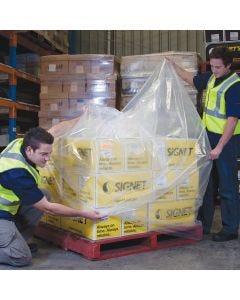 LDPE Pallet Bag 2600mm x 90um - Clear (20 bags per roll)