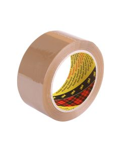 3M 371 Packaging Tape 48mm x 75m - Brown