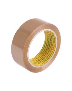 3M 370 Hot Melt Packaging Tape 36mm x 75m - Brown