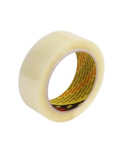 3M 370 Hot Melt Packaging Tape 36mm x 75m - Clear