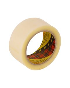 3M 370 Hot Melt Packaging Tape 48mm x 75m - Clear