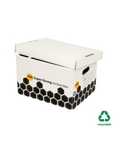 Marbig Heavy Duty Archive Boxes (400mm L x 305mm W x 260mm H)