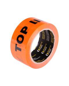 Signet's Own Fluoro Orange Warning Tape 48mm x 66m - Top Loading Only