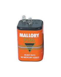 Mallory Plus 6 Volt Battery
