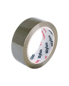 Vibac P30 Rubber Solvent Packaging Tape 36mm x 75m - Brown