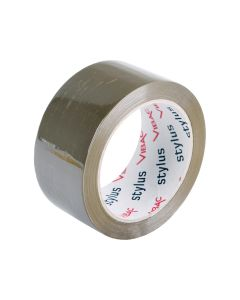 Vibac P30 Rubber Solvent Packaging Tape 48mm x 75m - Brown