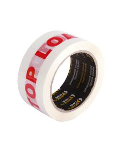 Signet's Own White Warning Tape 48mm x 66m - Top Load Only