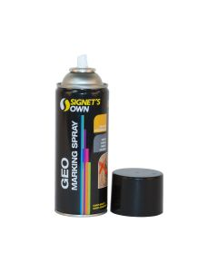 Signet's Own Horizontal Geo Marking Spray - Black