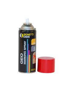 Signet's Own Horizontal Geo Marking Spray - Red