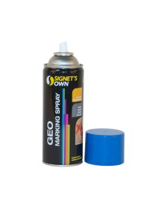 Signet's Own Horizontal Geo Marking Spray - Blue