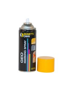 Signet's Own Horizontal Geo Marking Spray - Yellow