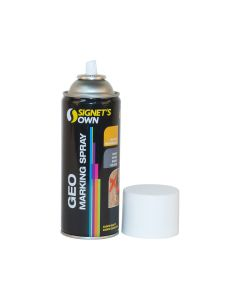 Signet's Own Horizontal Geo Marking Spray - White