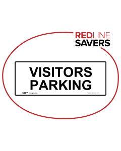 Visitor Parking 450mm x 180mm - Polypropylene