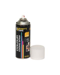 Signet's Own Steel Colour Coding Spray - Custard (Y22)