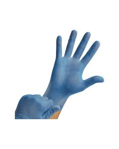 Ansell Duratouch® 34-650 - Blue, Large (100 gloves per box)