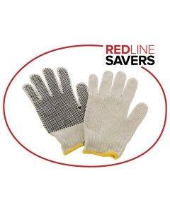 Signet's Own Cotton Polka Dot Gloves (48 pairs per carton)