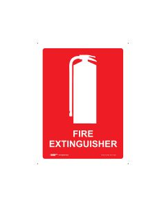 Fire Extinguisher 225mm x 300mm - Polypropylene